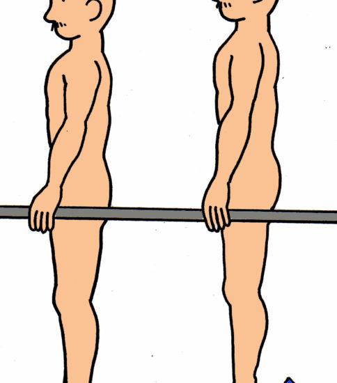 カーフレイズ(下腿三頭筋の筋力強化)