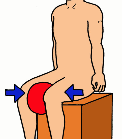 股関節内転筋の筋力強化3