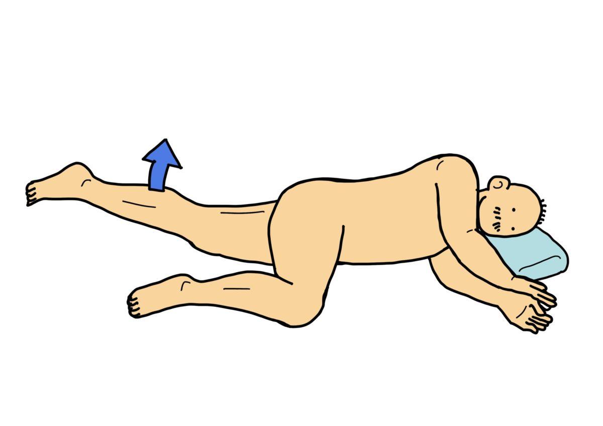 股関節内転筋群の筋力強化