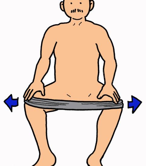 股関節外転筋群・外旋筋群の筋力強化