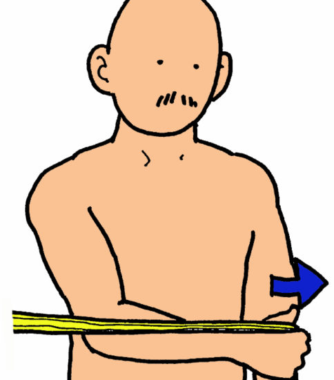 カフ・エクササイズ(内旋筋)