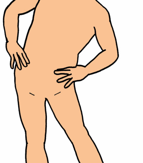 フリフリ体操/ 腰まわし運動(骨盤回旋運動)