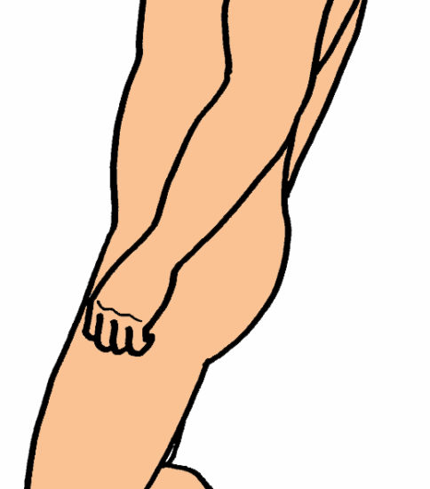 スクワットの変法 ~膝関節主導型と股関節主導型~