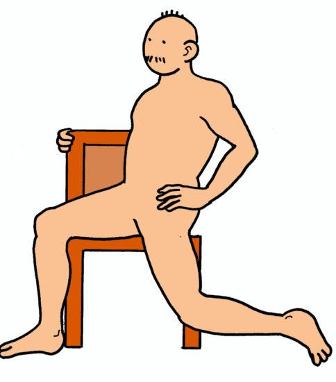 腸腰筋のストレッチ その2