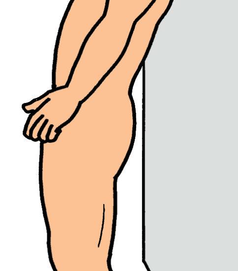 パーキンソン病の姿勢制御訓練1(立ち直り)