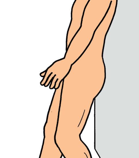 パーキンソン病の姿勢反射制御訓練3(ステッピング)