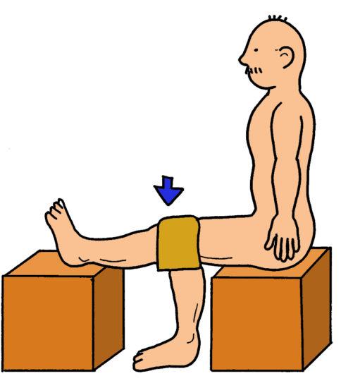 膝関節の持続伸張 ~頑固な拘縮の対処法~