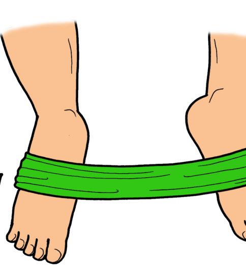 外返し筋群の筋力トレーニング