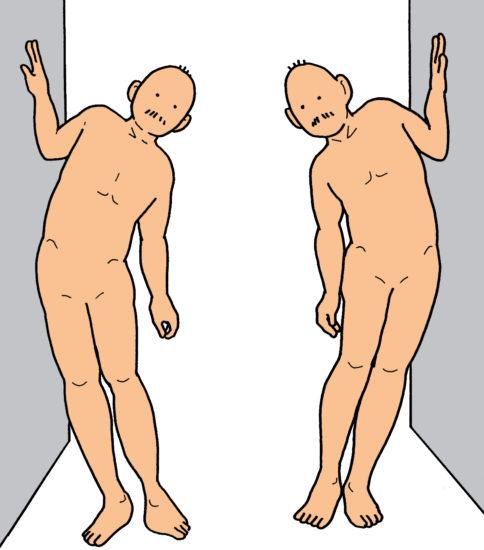 腰痛「これだけ体操」をイラストでご紹介 その3