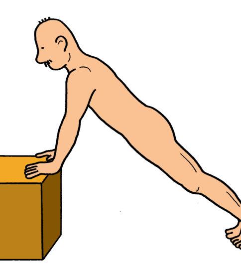 上腕三頭筋のエクササイズ(プッシュアップ)