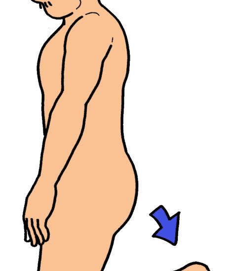 足底筋膜のストレッチ