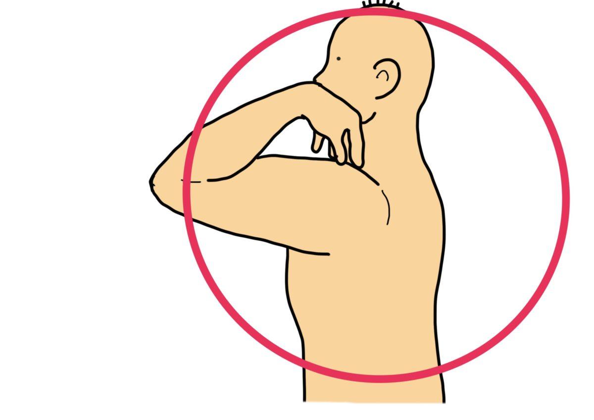 肩甲骨エクササイズ(肩甲骨剥がし)