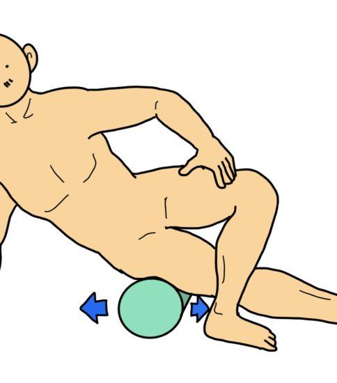 腸脛靭帯のストレッチ(腸脛靭帯炎の予防・治療)