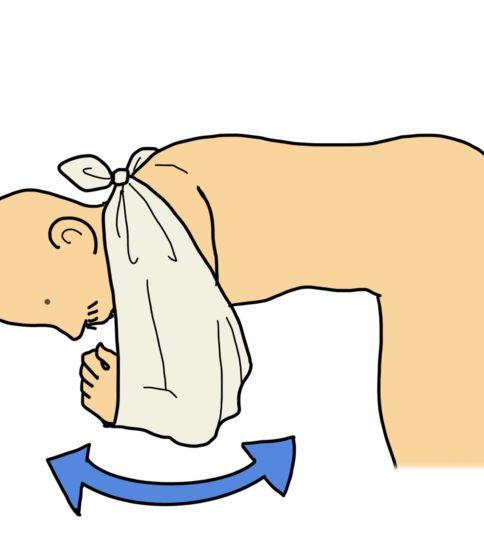 ゴッドマン体操(振り子運動、アイロン体操)その2  別バージョン