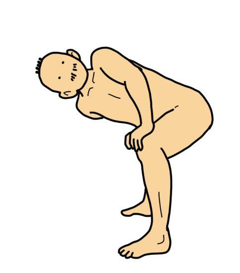 股関節内転筋〜体幹回旋〜大胸筋のストレッチ